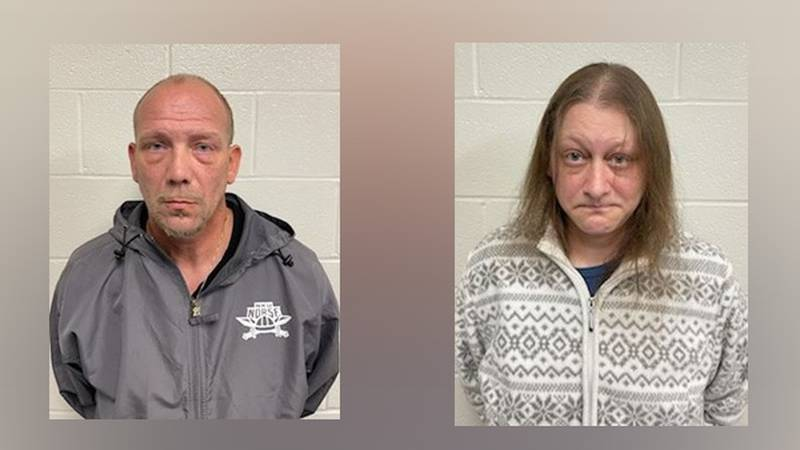 Troy Caseltine (left) and Susan Caseltine (right)