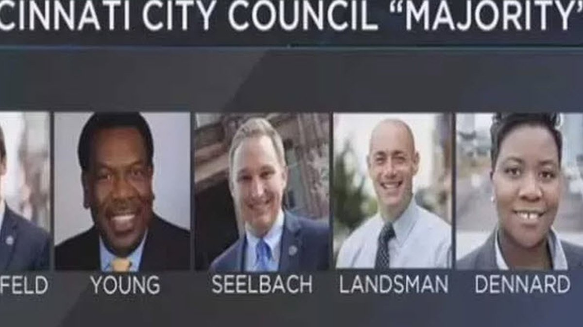 "Cincinnati City Council ""Gang of Five."" Photo: FOX19 NOW/file"