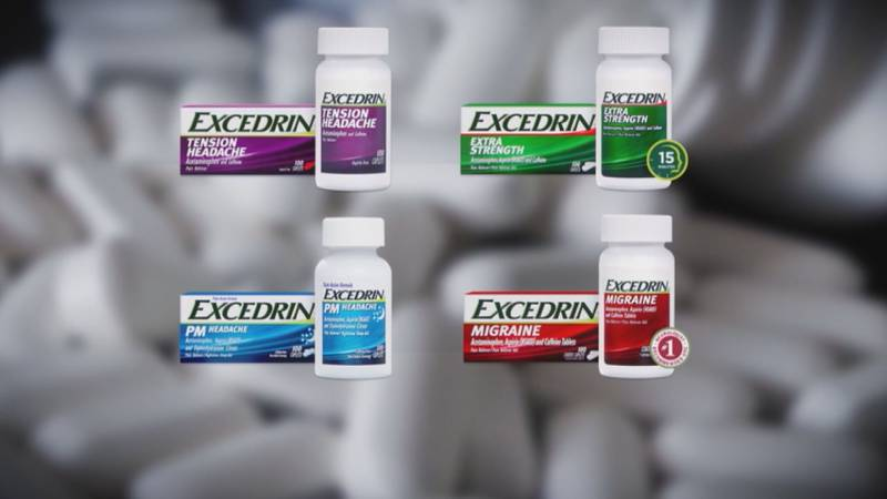 Manufacturer GlaxoSmithKline has halted production of Excedrin Migraine and Excedrin Extra...