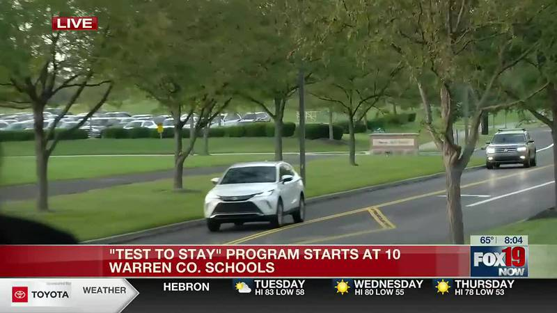 Test to Stay program to start Tuesday in Warren County