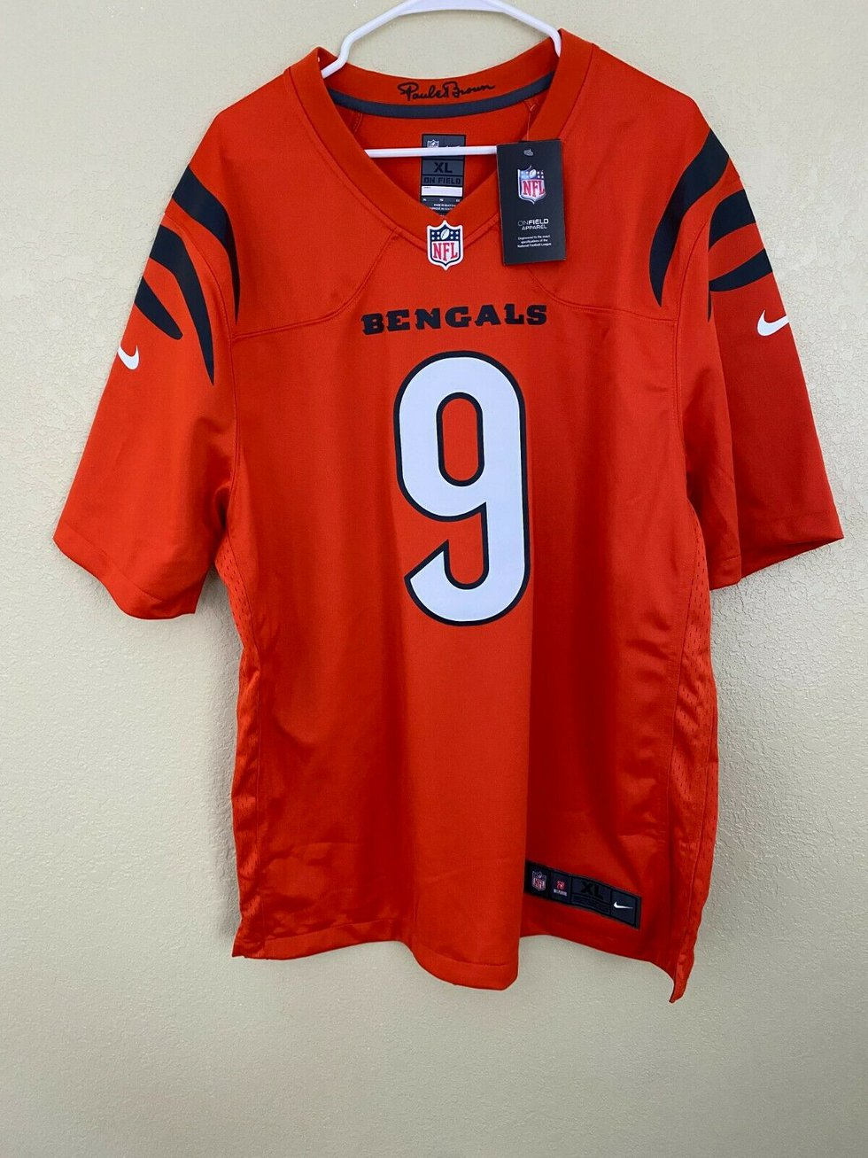One of the Bengals' 2021-22 jerseys might have been leaked online Sunday.