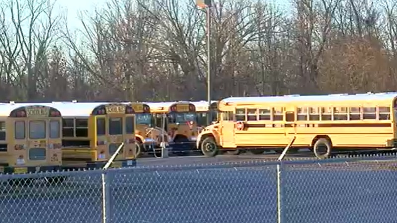 A Northern Kentucky mother is upset after her child fell asleep on a Boone County school bus...