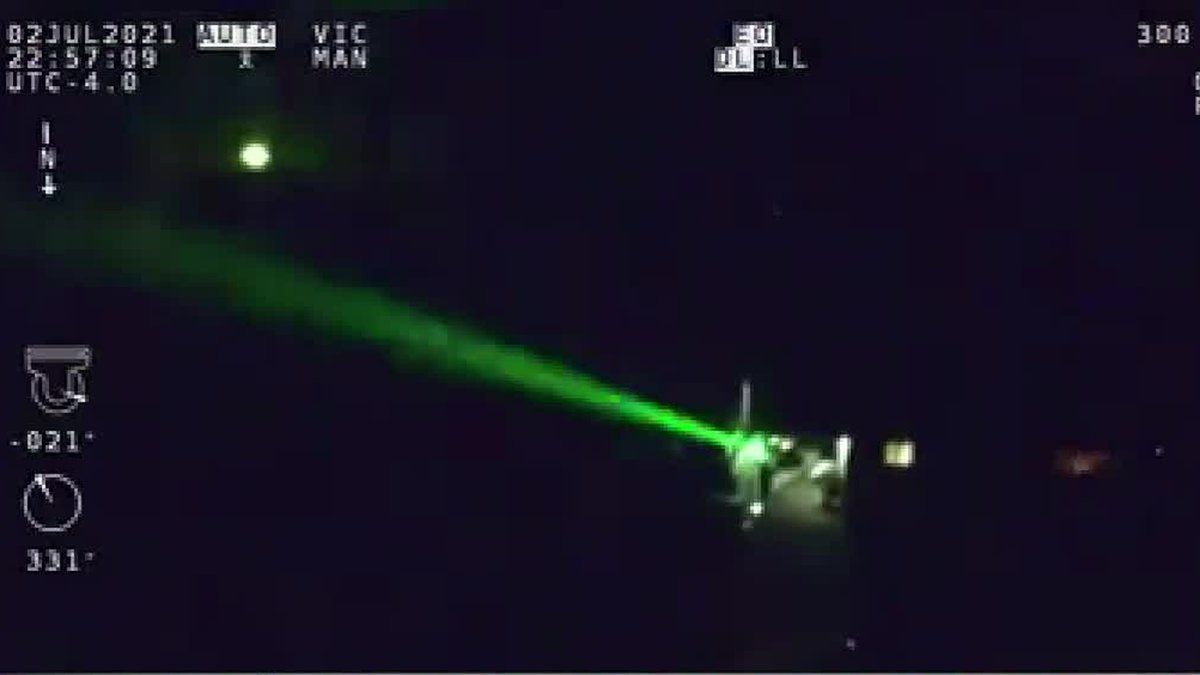Ohio State Highway Patrol helping FAA crackdown on lasers targeting aircraft pilots