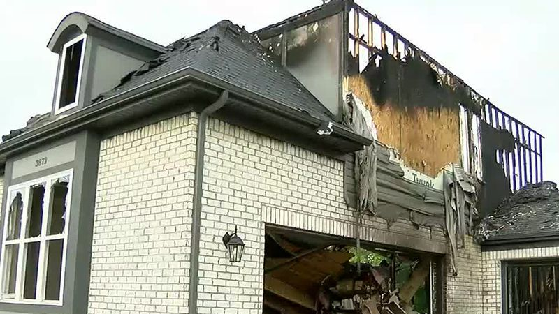 Erlanger family lucky to be alive after house struck by lightning