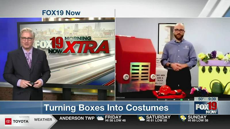 """Making """"Boxtumes"""" for Halloween from Two Men and a Truck"""