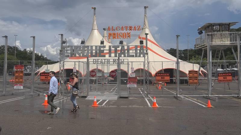 Cirque Alcatraz brings it's talents to Tallahassee
