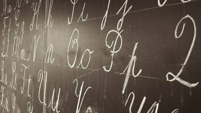 In a world of Snapchat and text messages, cursive handwriting has gone by the wayside -- until...