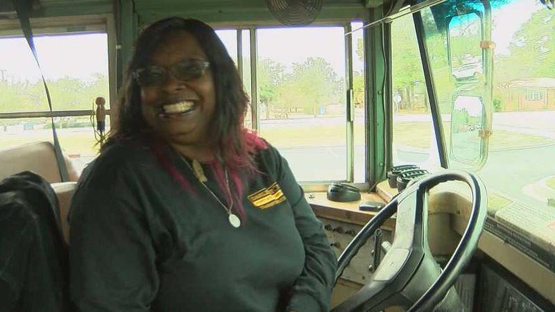 Darlington County school bus driver Bernadine Reed has been hailed as a hero following a...