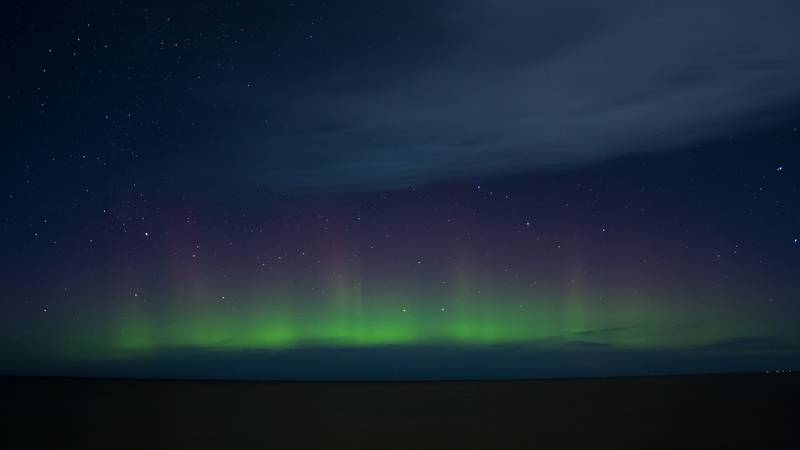 A geomagnetic storm could make the auroras more visible in parts of the northern U.S. (Source:...