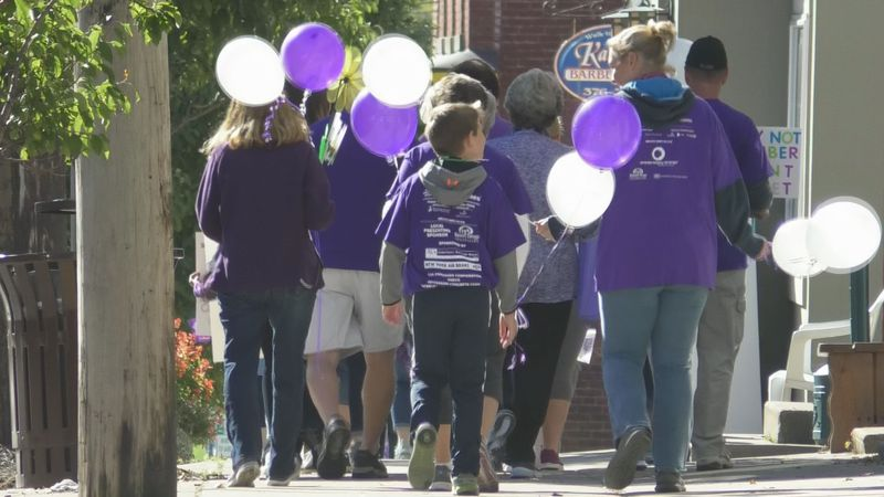 Groups walked to end Alzheimer's in Lowville Saturday