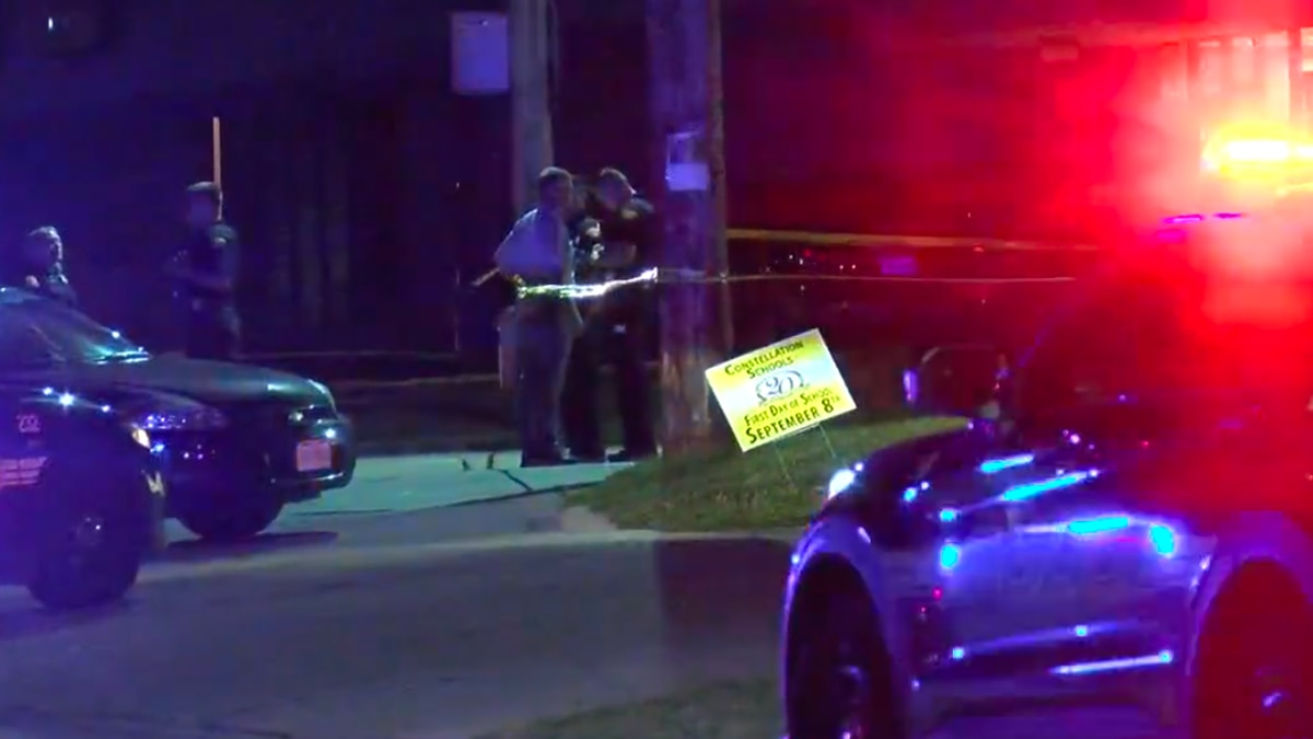 A Cleveland police officer was shot Thursday night on West 65th Street near Clark Avenue.