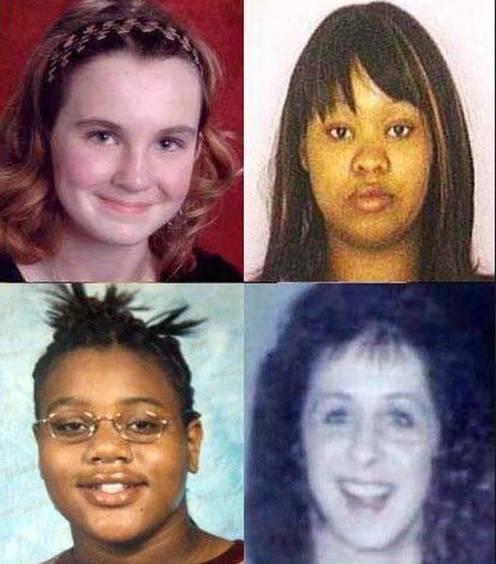 Anthony Kirkland's final four victims: Esme Kenney, 13, Casonya Crawford, 14, Kimya Rolison, 25...