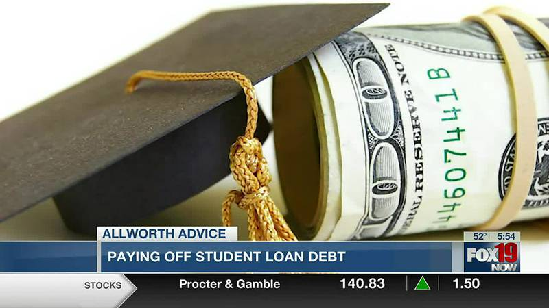 Allworth Advice: Paying off student loan debt