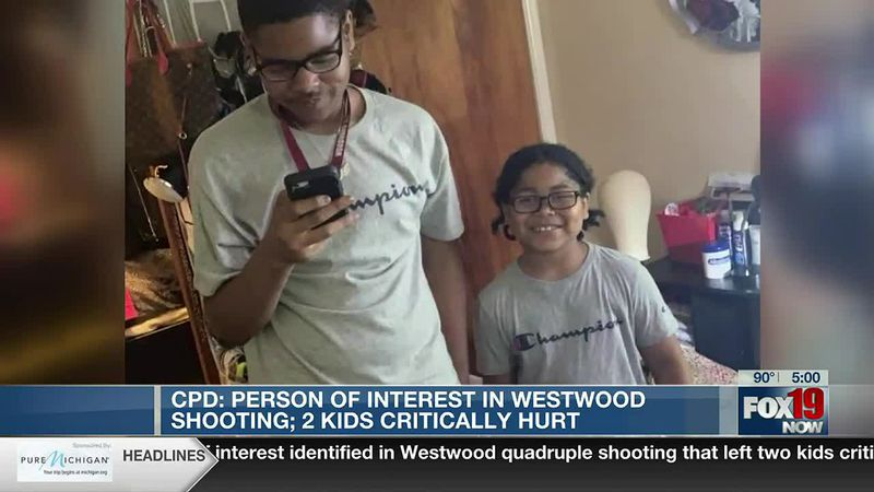 Person of interest identified in Westwood quadruple shooting that left 2 kids critically injured