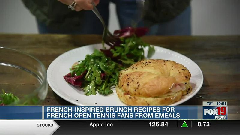 Brunch recipes for French Open fans