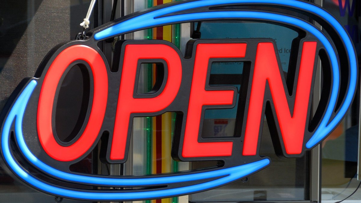 Businesses and services are slowly starting to reopen after being closed because of the...