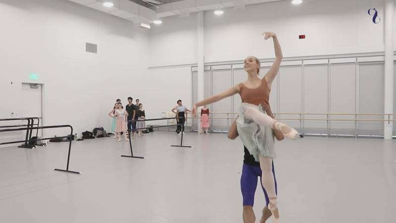 The 57,000 square foot building features nine studios, which will allow expanded dance classes,...