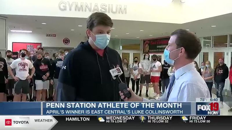 Penn Station Athlete of the Month - April