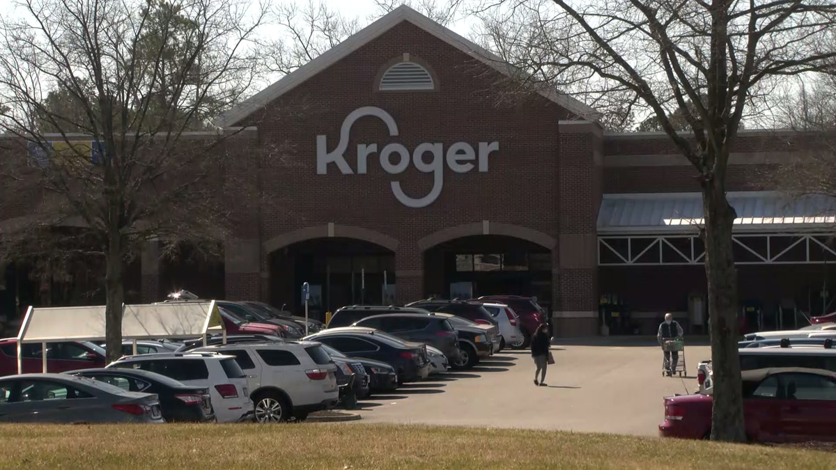 A small number of people received a shot of saline instead of the COVID-19 vaccine at a Kroger...