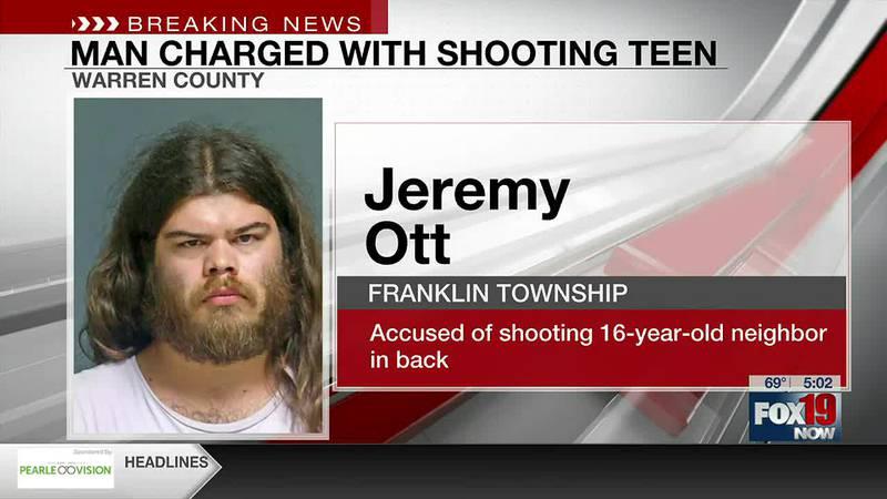 Warren Co. man accused of shooting teenage neighbor