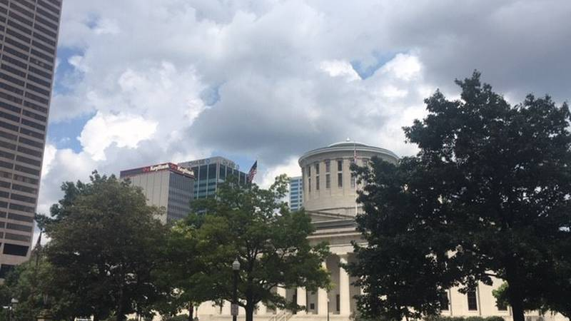 The Ohio Statehouse.