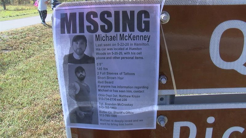 Friends and family searched Saturday for a Butler County man who has been missing since May.