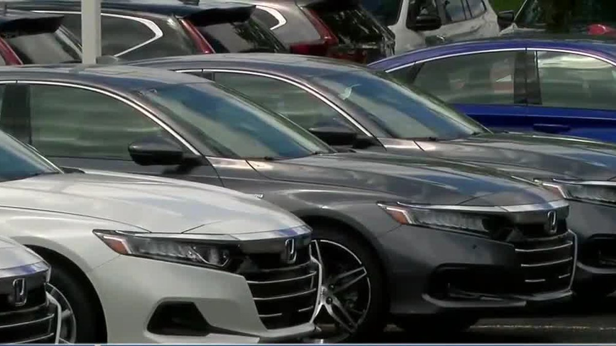 Chip shortage impacts car manufacturing