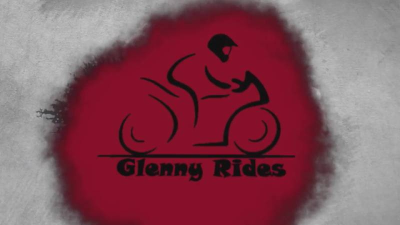 Glenny Rides YouTube channel inspires people to be positive, be themselves, and support law...
