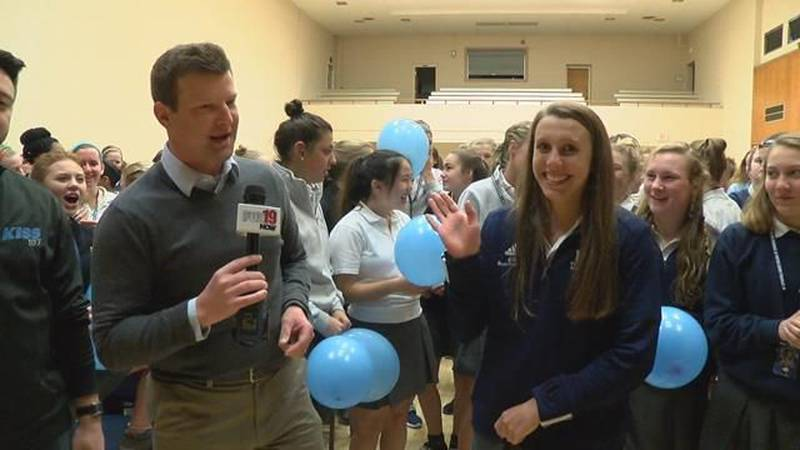 April's Penn Station Athlete of the Month: Maddy Vonderhaar (VIDEO)