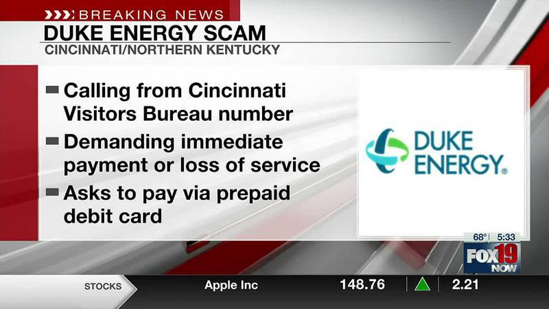 Duke Energy warns of phone scam targeting more customers