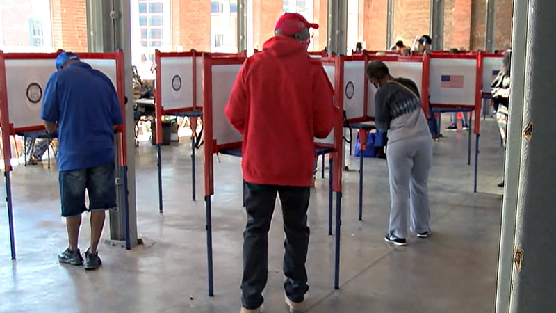 During three weeks of early voting, far fewer ballots were cast at the Kentucky Center for...