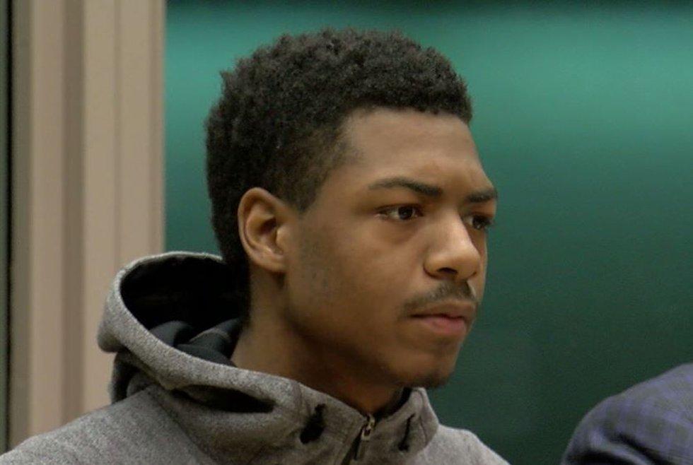 Recardo Woods in court. (FOX19 NOW)