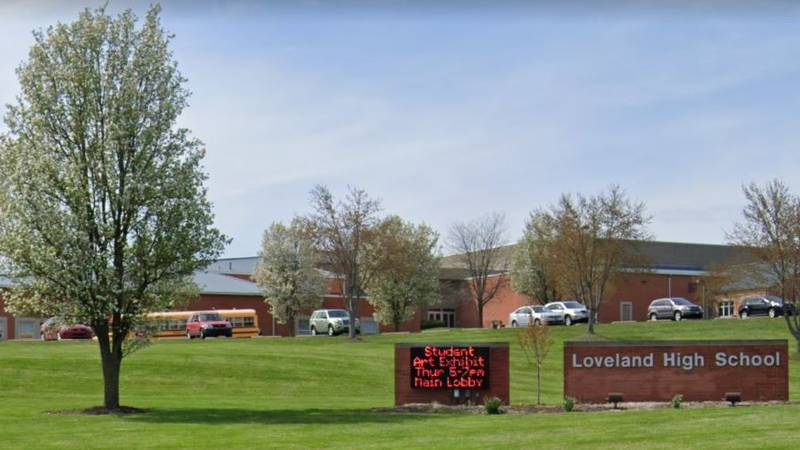 The Loveland City School District wrote on its website that the high school's lead custodian...
