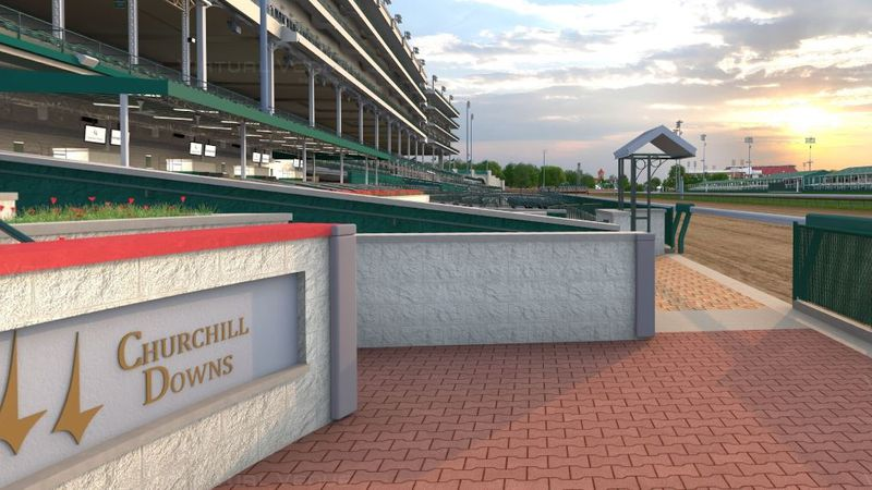 Churchill Downs in Louisville, Ky. is home of the Kentucky Derby.
