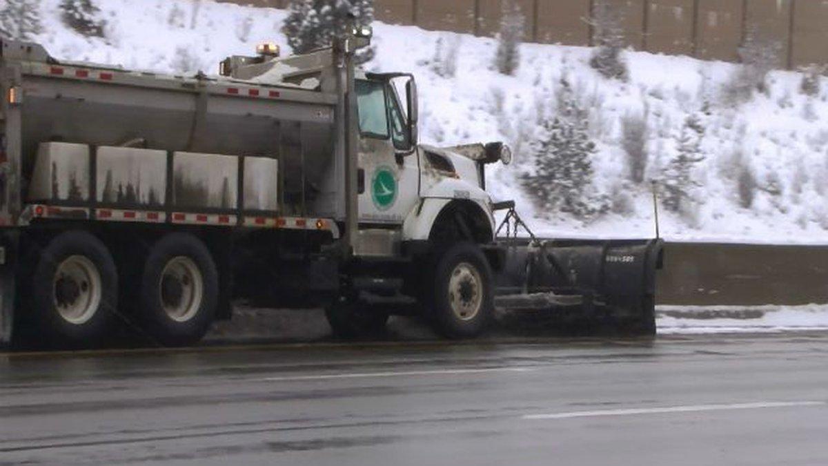 ODOT plow truck