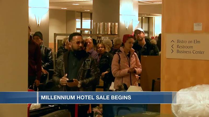 Items from the Millennium Hotel for sale