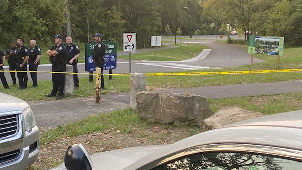 Police are investigating after a body was reportedly found at Shawnee Park Saturday evening.