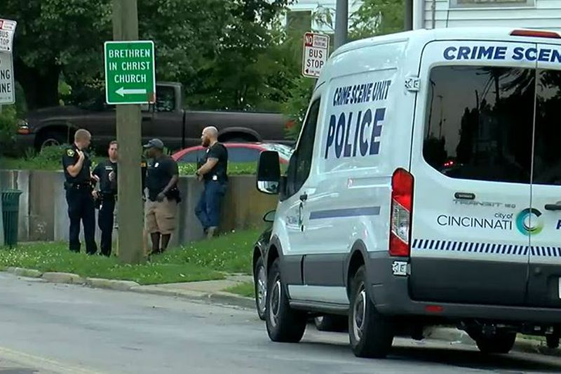 The shooting happened near the McHenry and Cavanaugh Avenue intersection.