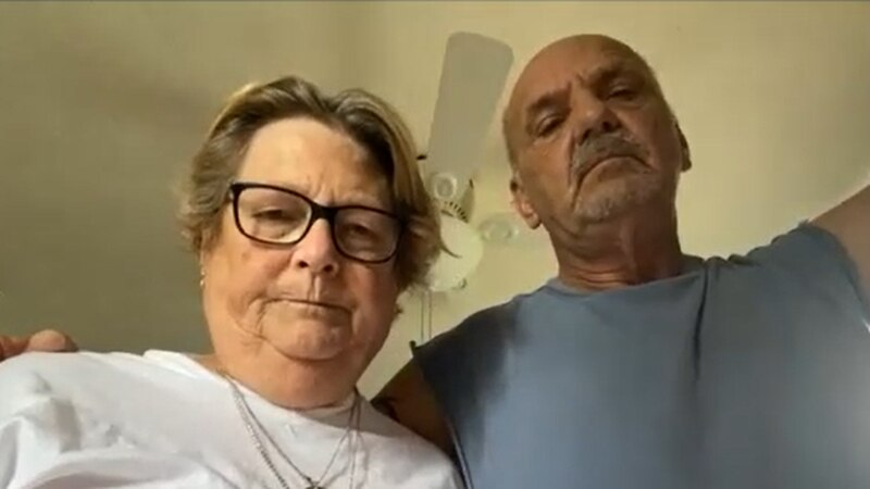 Donna and Richard Sayre of Akron say they are owed $4,400 in unemployment benefits