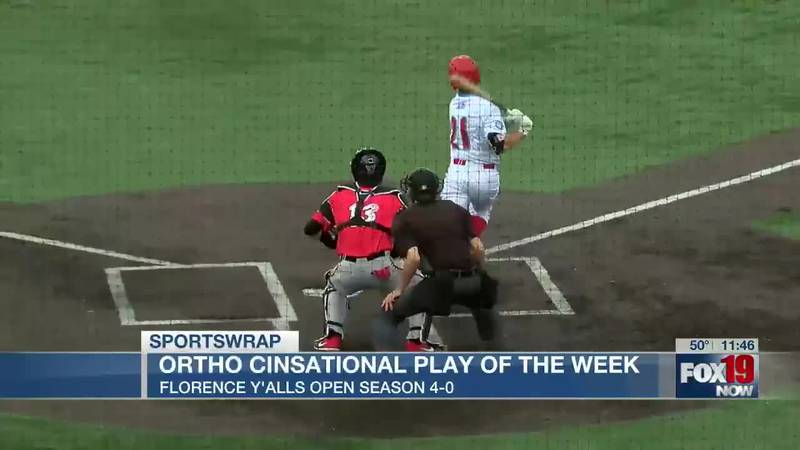 OrthoCinsational Play of the Week: Florence Y'alls open season 4-0