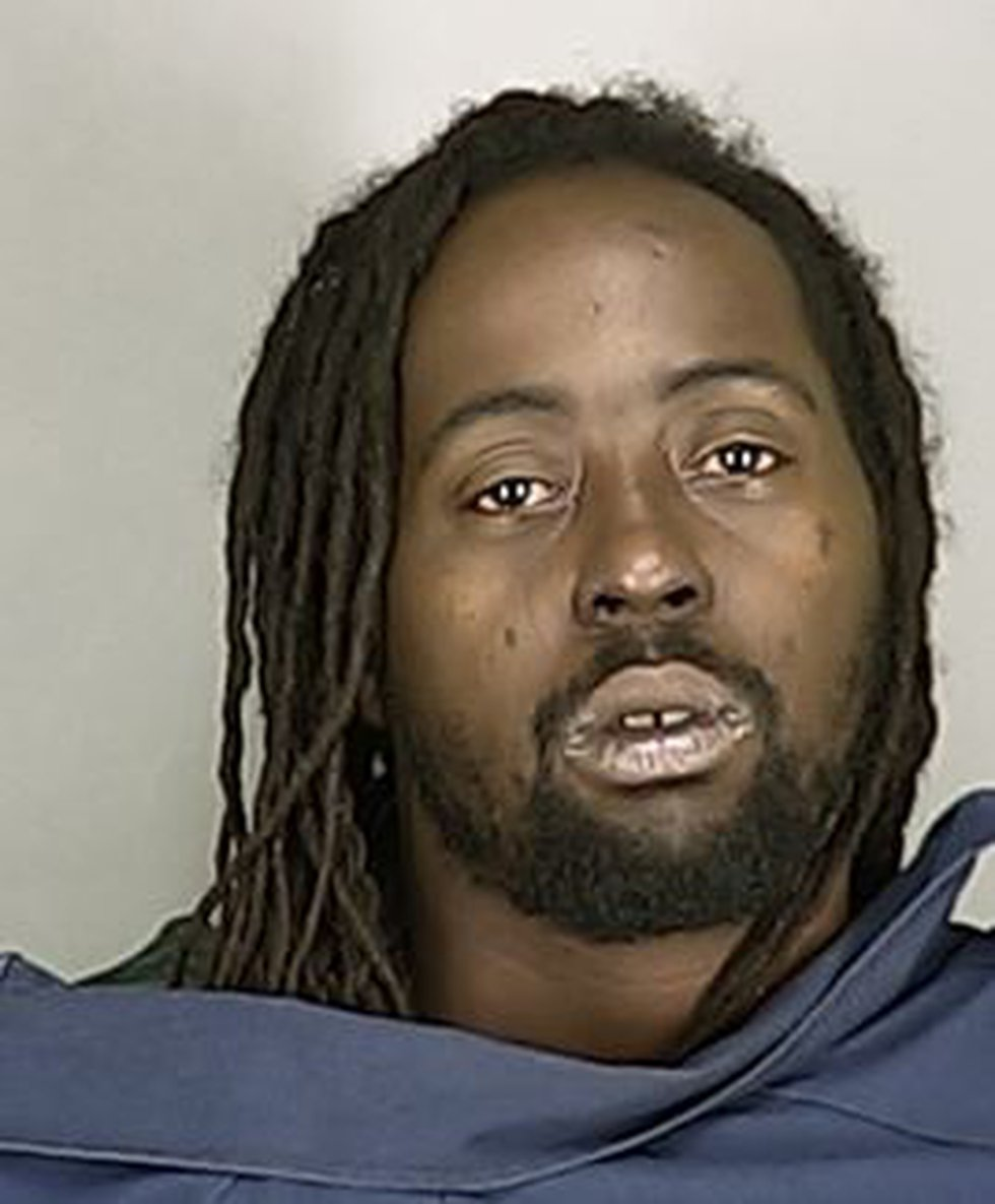 He is charged with felonious assault and weapons under disability.