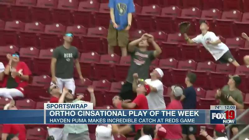 OrthoCinsational Play of the Week: Amazing catch