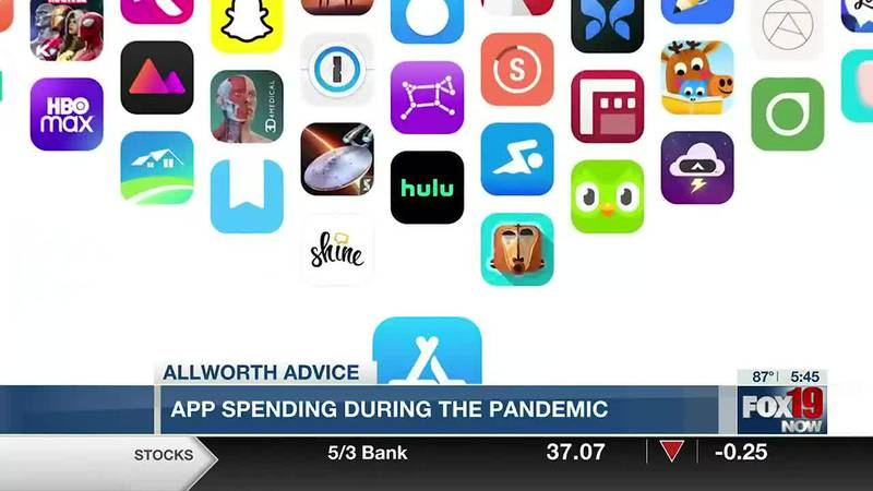 Allworth Advice: App spending during the pandemic
