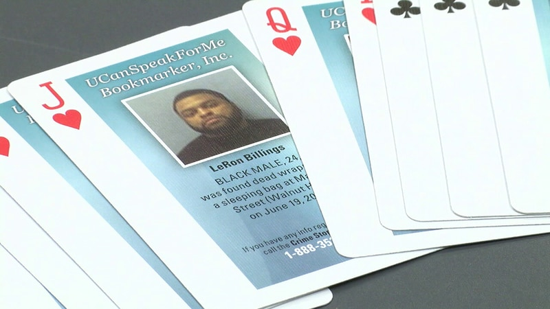 Cold case playing cards distributed in Ohio jails, prisons to help with unsolved murders.