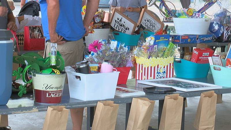 A fundraiser for the Kyler Strong Foundation was held at the Edgewater Sports Park Saturday.