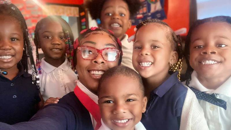 There's a childcare shortage across the country. One local woman is helping meet the need right...