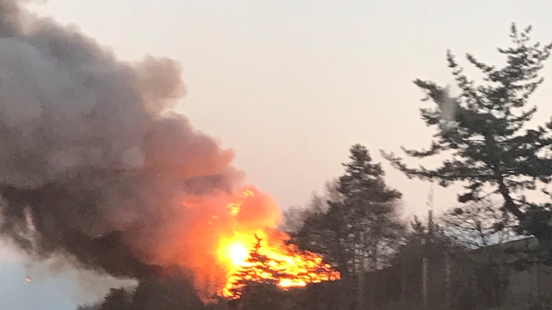 Rocky River Fire Department has confirmed there is a huge structure fire on Hilliard Blvd....