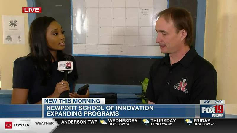Newport School of Innovation guidance counselor talks new programs