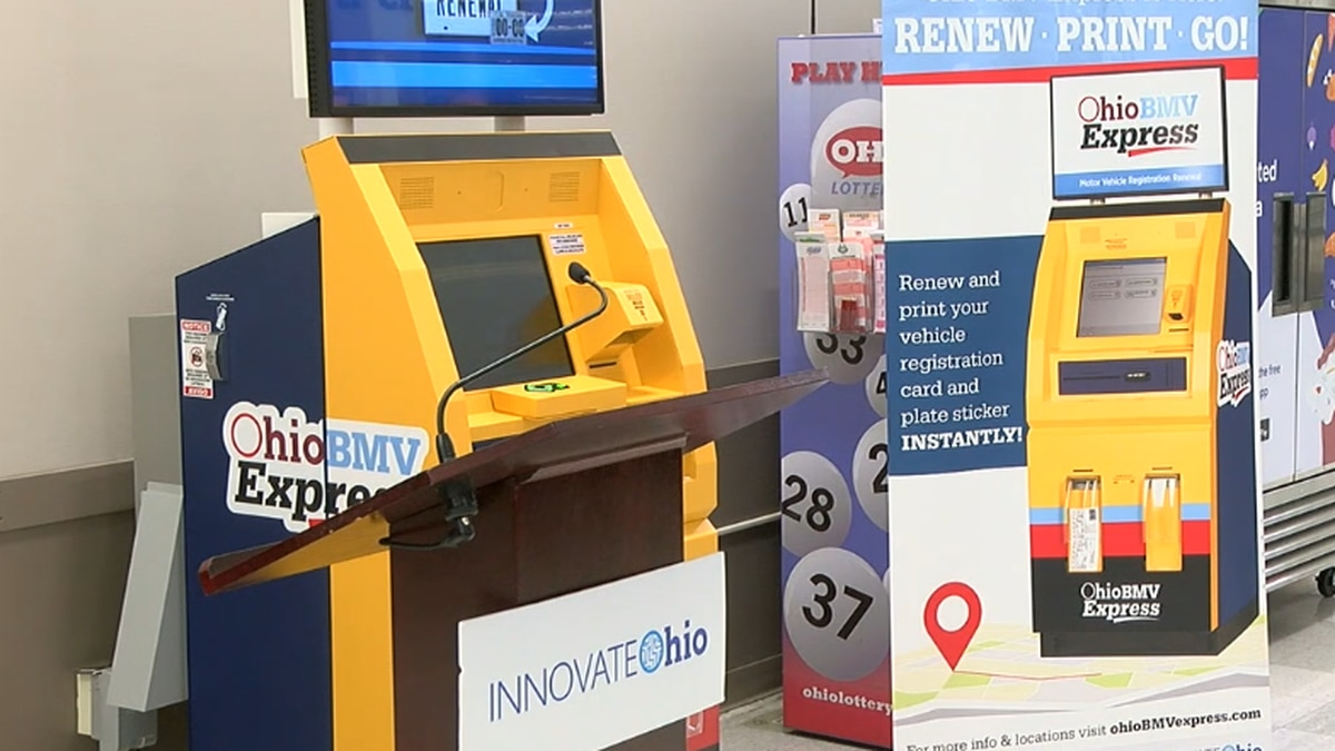 The average transaction time at one of the kiosks is less than two minutes, according to the...