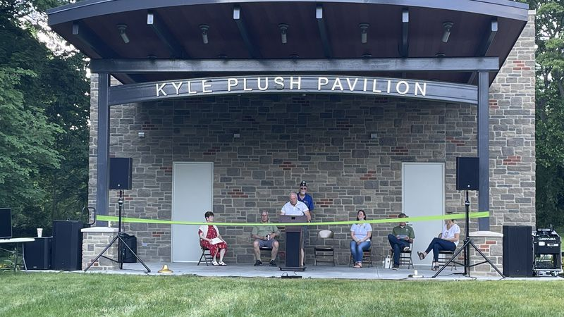 Family and friends gathered in Stanbery Park Saturday for a ribbon-cutting of the brand new...